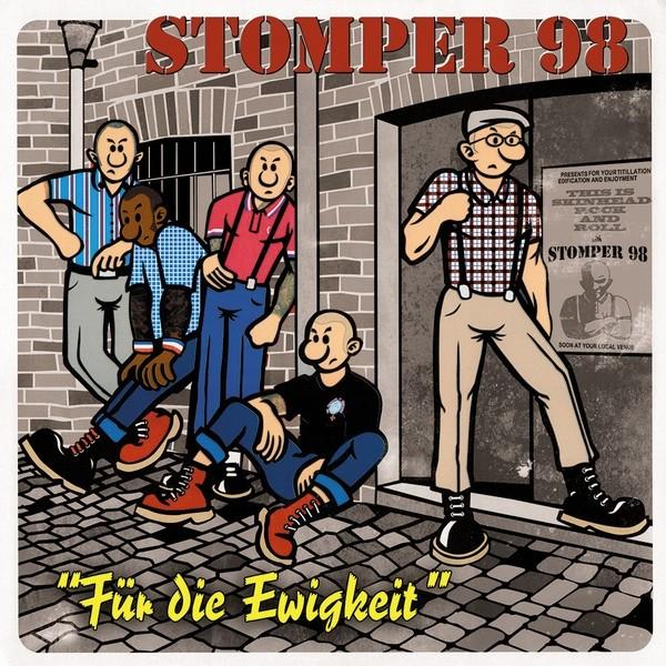 """Stomper 98 - Für Die Ewigkeit 12""""GF-LP repress"""