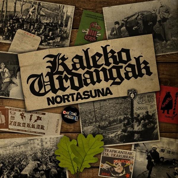 "Kaleko Urdangak - Nortasuna 12""LP 3rd press +Poster"