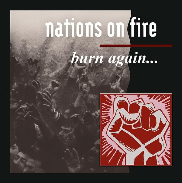 "Nations On Fire ‎- Burn Again... 12""LP"