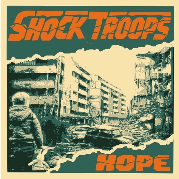 """Shock Troops - Hope - 7""""EP (verschiedene vinylfarben)"""