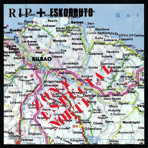 """V/A - R.I.P. + Eskorbuto - """"Zona Especial Norte"""" 12""""LP"""