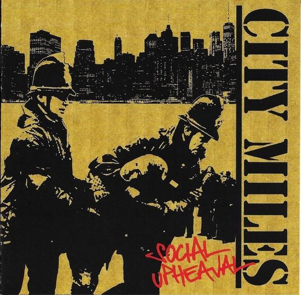 City Miles - Social Upheaval - CD