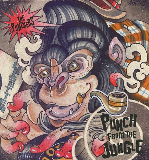 "Punchers,The - Punch From The Jungle 7""EP lim. 250 black"