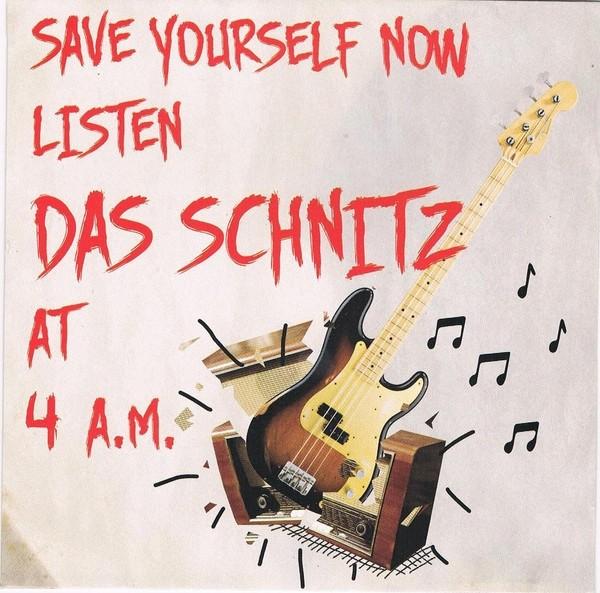 """Das Schnitz - 4 A.M. 7""""EP lim.100 red"""