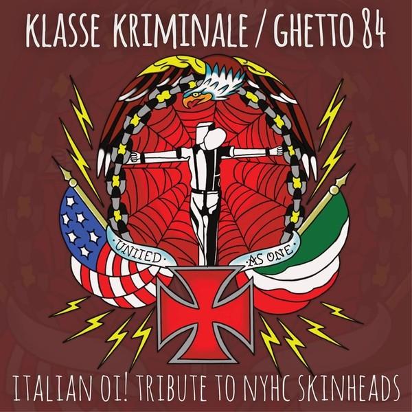 "V/A Klasse Kriminale / Ghetto 84 - Italian Oi! Tribute To NYHC Skinheads 7""EP"