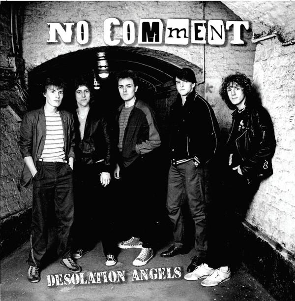 """No Comment - Desolation Angels 12""""LP lim.300 black"""