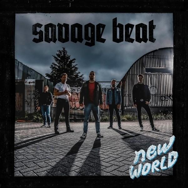 "Savage Beat - New World 12""LP Single Sided lim. 300 Blue-print (Band version)"