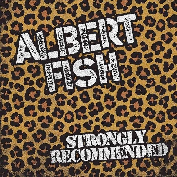 """Albert Fish - Strongly Recommended 12""""LP Single Sided lim. 200 handnumbered black"""
