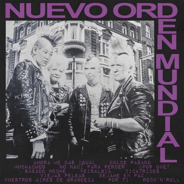 """Nuevo Orden Mundial - s/t 12""""LP"""
