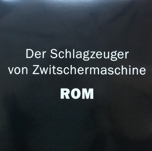 """Der Schlagzeuger von Zwitschermaschine - ROM 12""""LP"""