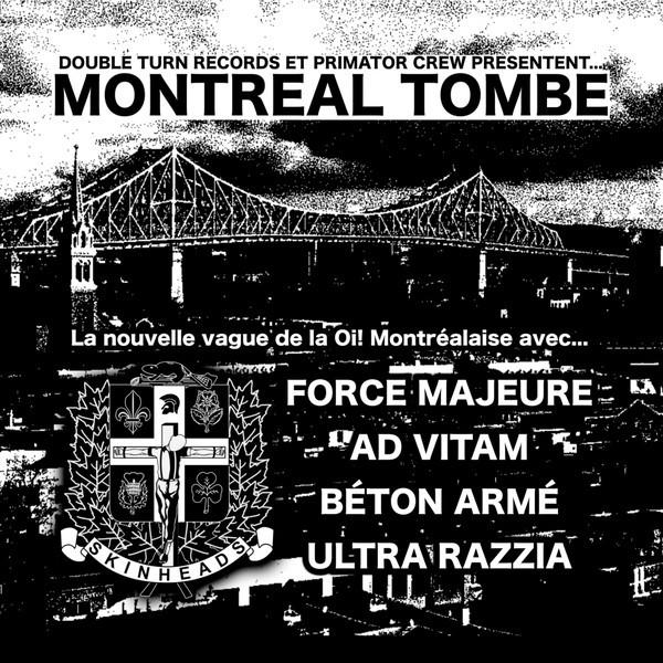 """V/A """"Montréal Tombe"""" - 7""""EP"""
