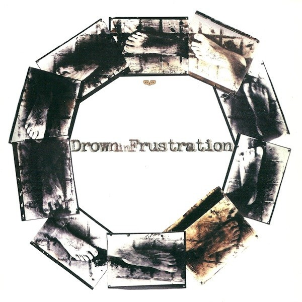 "V/A Drown In Frustration / Crowpath split 7""EP + CD Inside View #4"