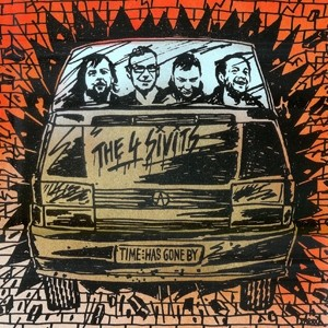 "The 4 Sivits ‎- Time Has Gone By 12""LP+CD"