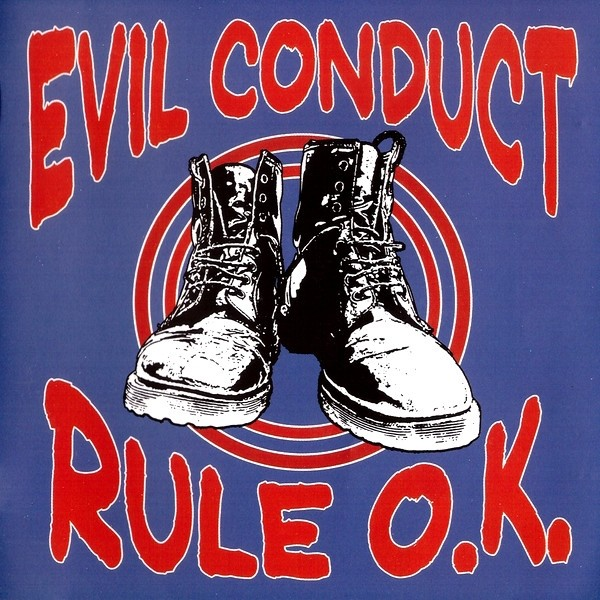 "Evil Conduct ‎- Rule O.K. 12""LP"