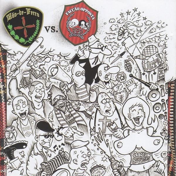 Faccao Opposta Vs Mao De Ferro - split - CD (brazil version)