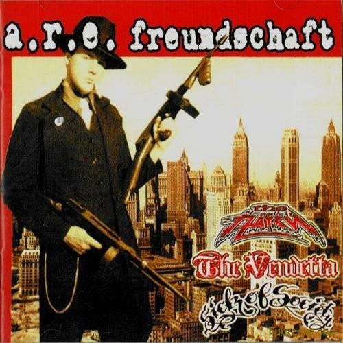 "V/A The Pauki / Vendetta/ Sick Of Society - A.R.E. Freundschaft split 12""LP"