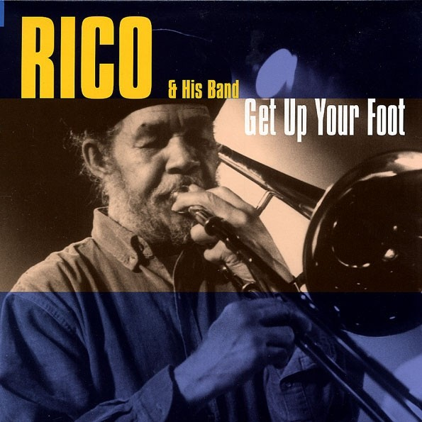 "Rico & His Band - Get Up Your Foot 12""LP"