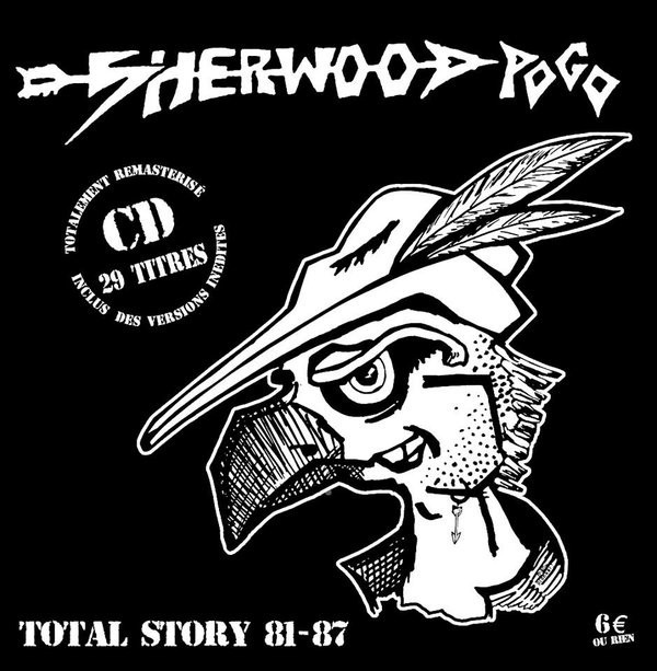 SHERWOOD POGO - Total Story 81-87  CD with 29 Tracks and Poster