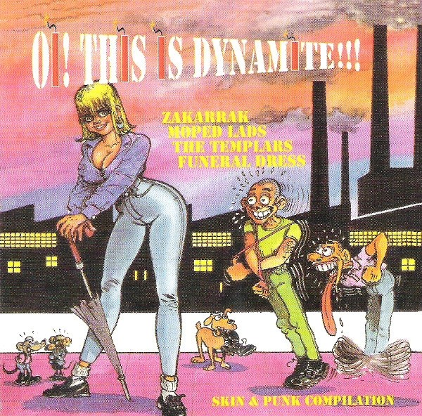 V/ A - Oi! This Is Dynamite!!! CD