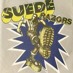 """Suede Razors - Boys Night Out 7""""EP 2nd press white"""