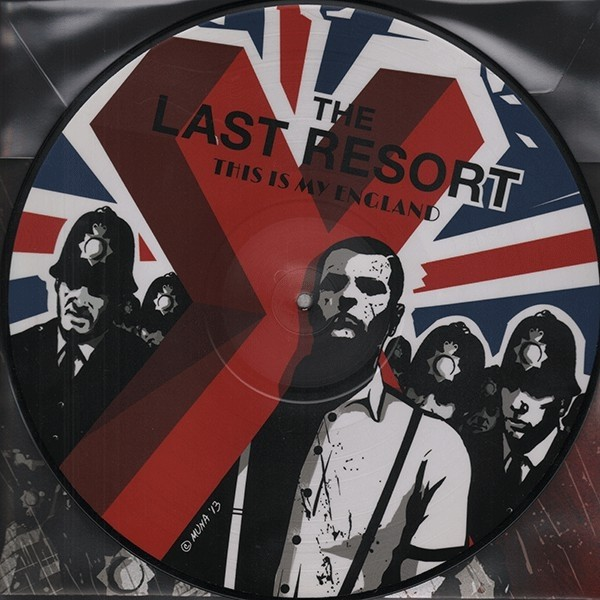 """Last Resort,The – This Is My England - Skinhead Anthems III - 12""""Pic-LP"""