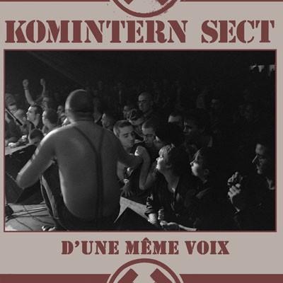"""Komintern Sect - D'Une Même Voix 12""""LP (french version)"""