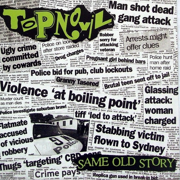 Topnovil ‎- Same Old Story - CD