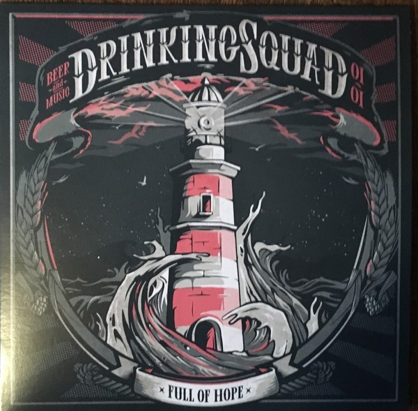 """Drinking Squad - Full Of Hope 7""""EP lim.300 baby blue"""