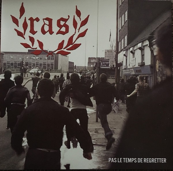 "R.A.S. - Pas le Temps de Regretter 12""LP 3rd press lim.500 clear"