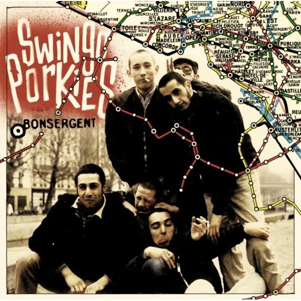 """Swingo Porkies - Bonsergent 10""""LP"""