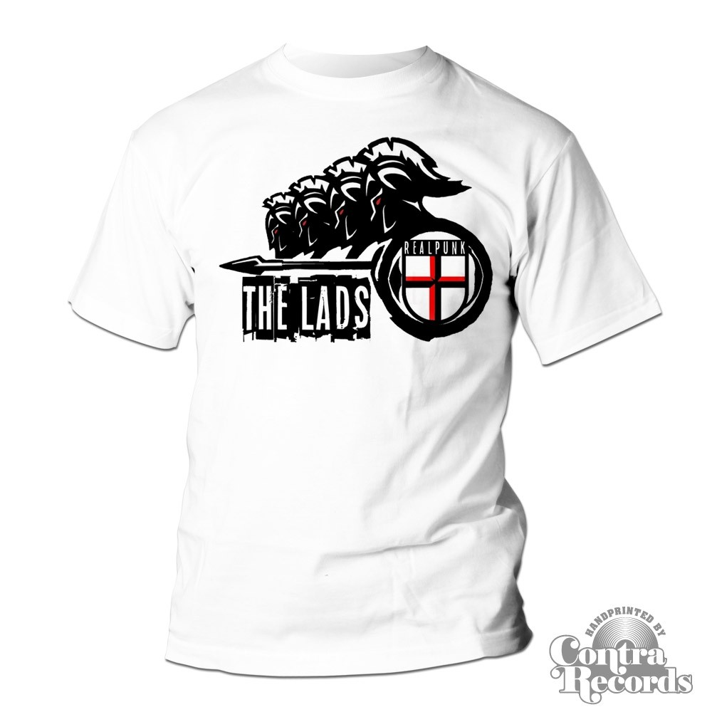 The Lads - Realpunk T-Shirt white