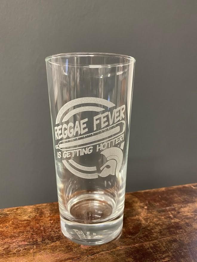 Reggae Fever - Drinking Glass