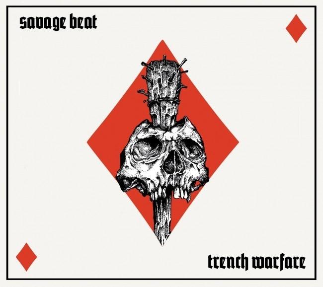 Savage Beat - Trench warfare CD (lim 300)