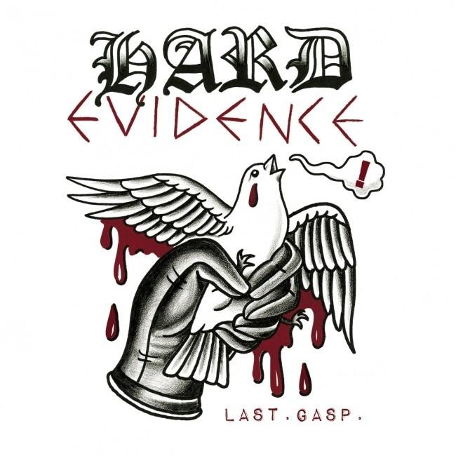 """Hard Evidence- Last. Gasp. 12""""LP lim.350 oxblood"""