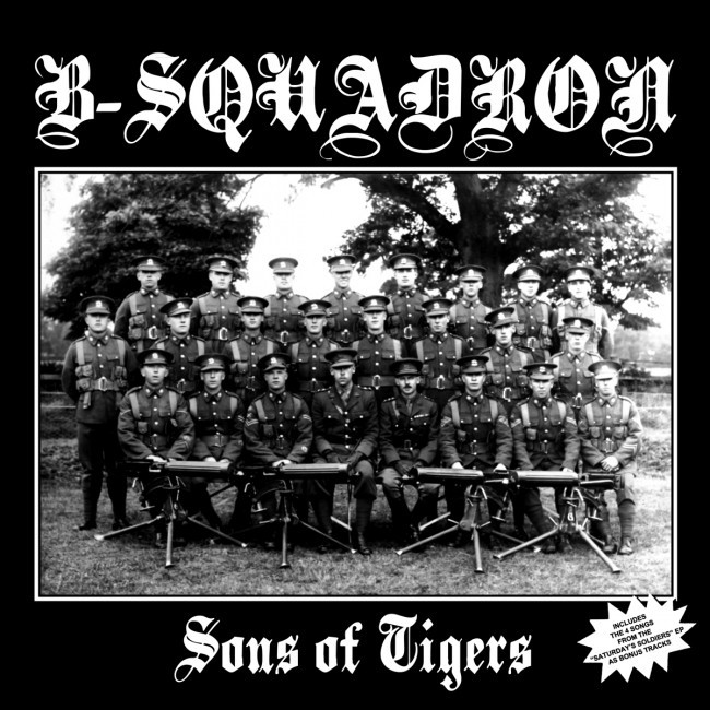 "B Squadron - Sons of tigers 12""LP lim.500 clear RP"