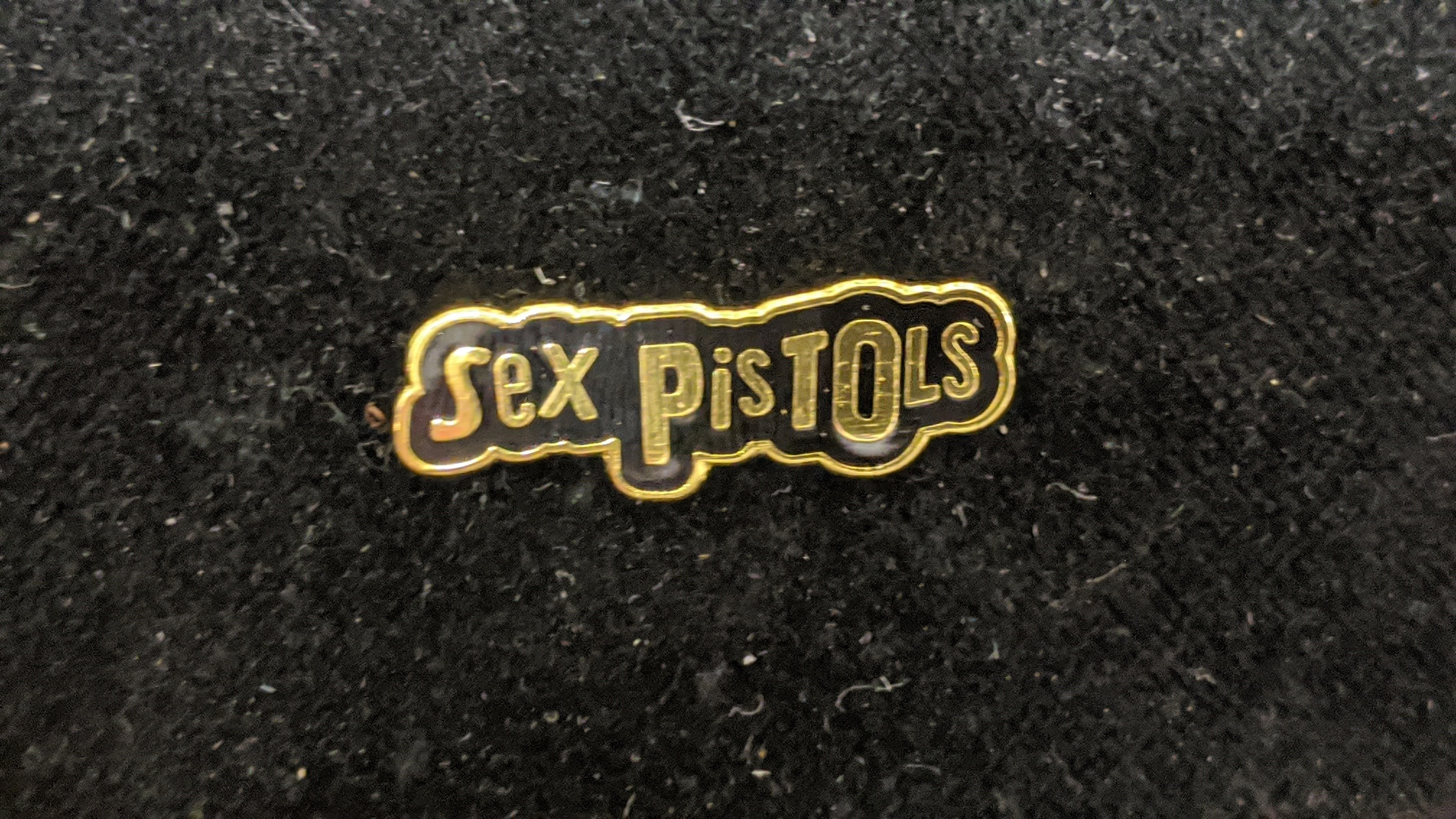 Sex Pistols gold - Metal-Pin
