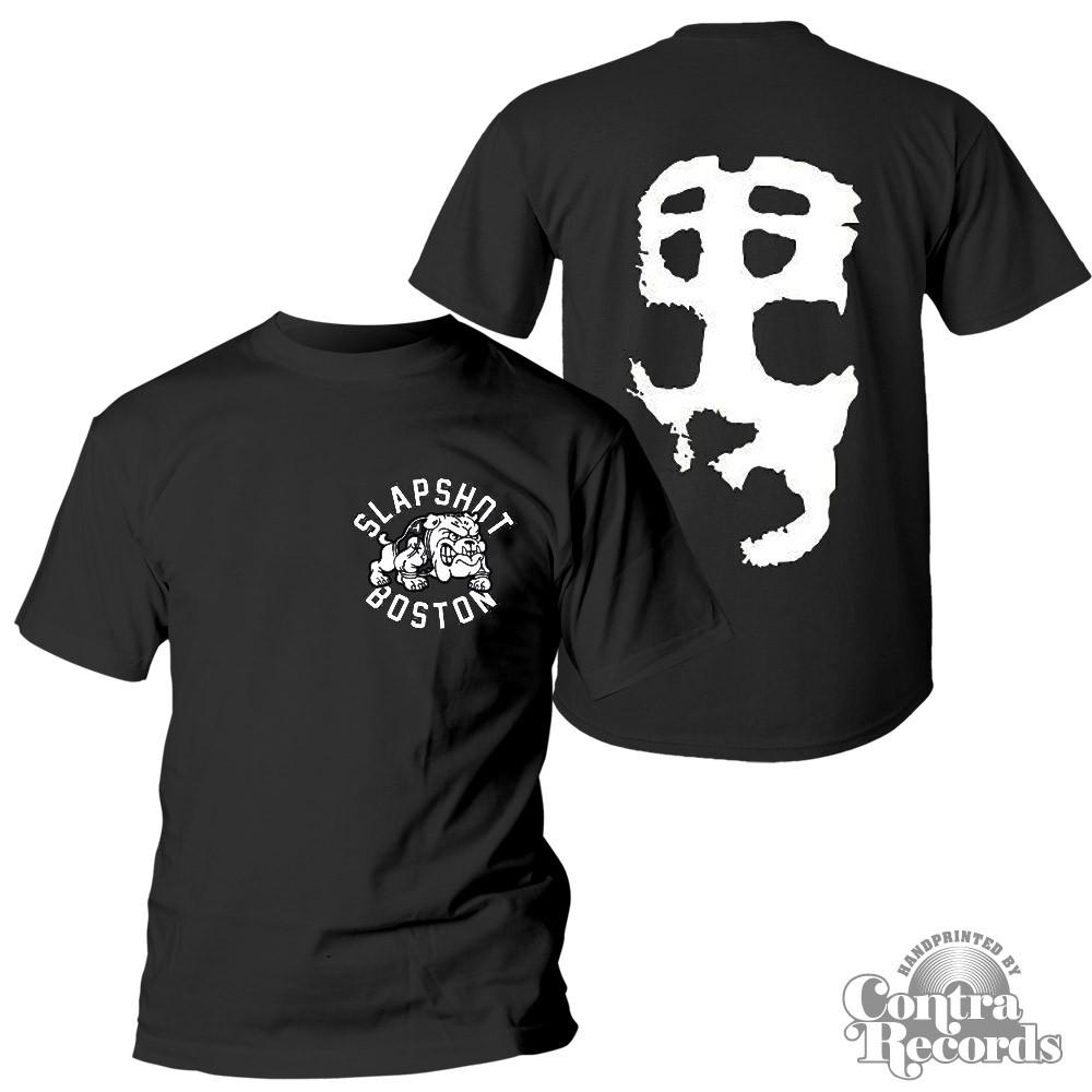"Slapshot - ""Big Mask"" T-Shirt black front/backprint"