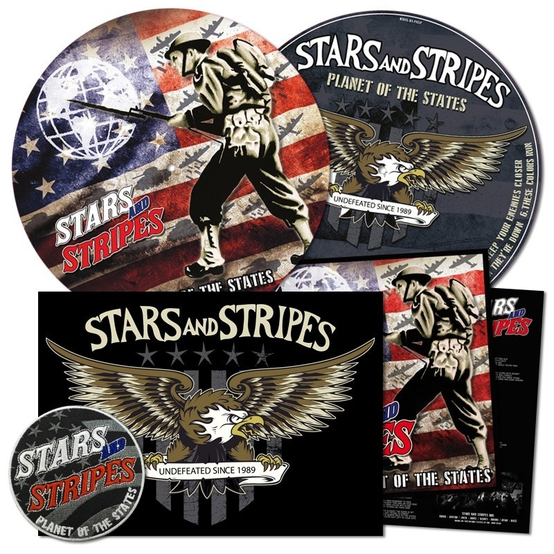 "Stars And Stripes - Planet Of The States 12""Pic-LP lim.500 incl. Poster & embroidered Patch"