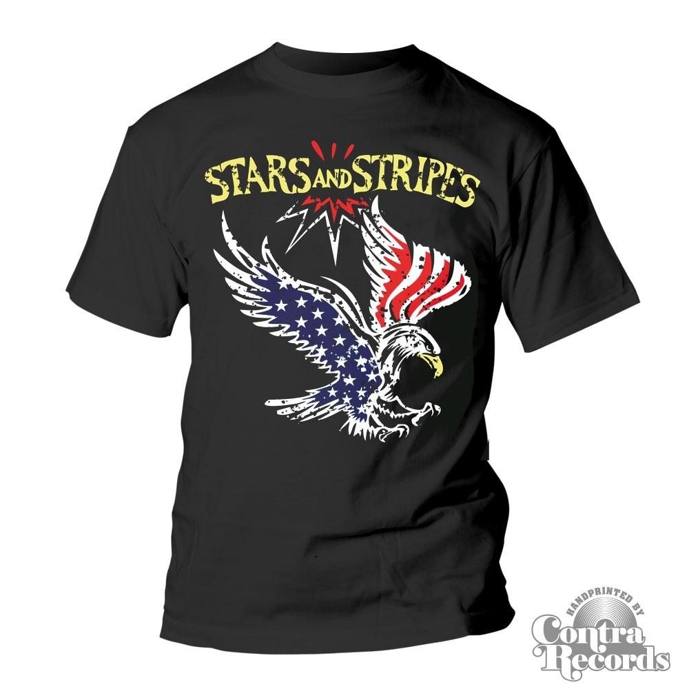"Stars and Stripes - ""eagle"" T-Shirt black"