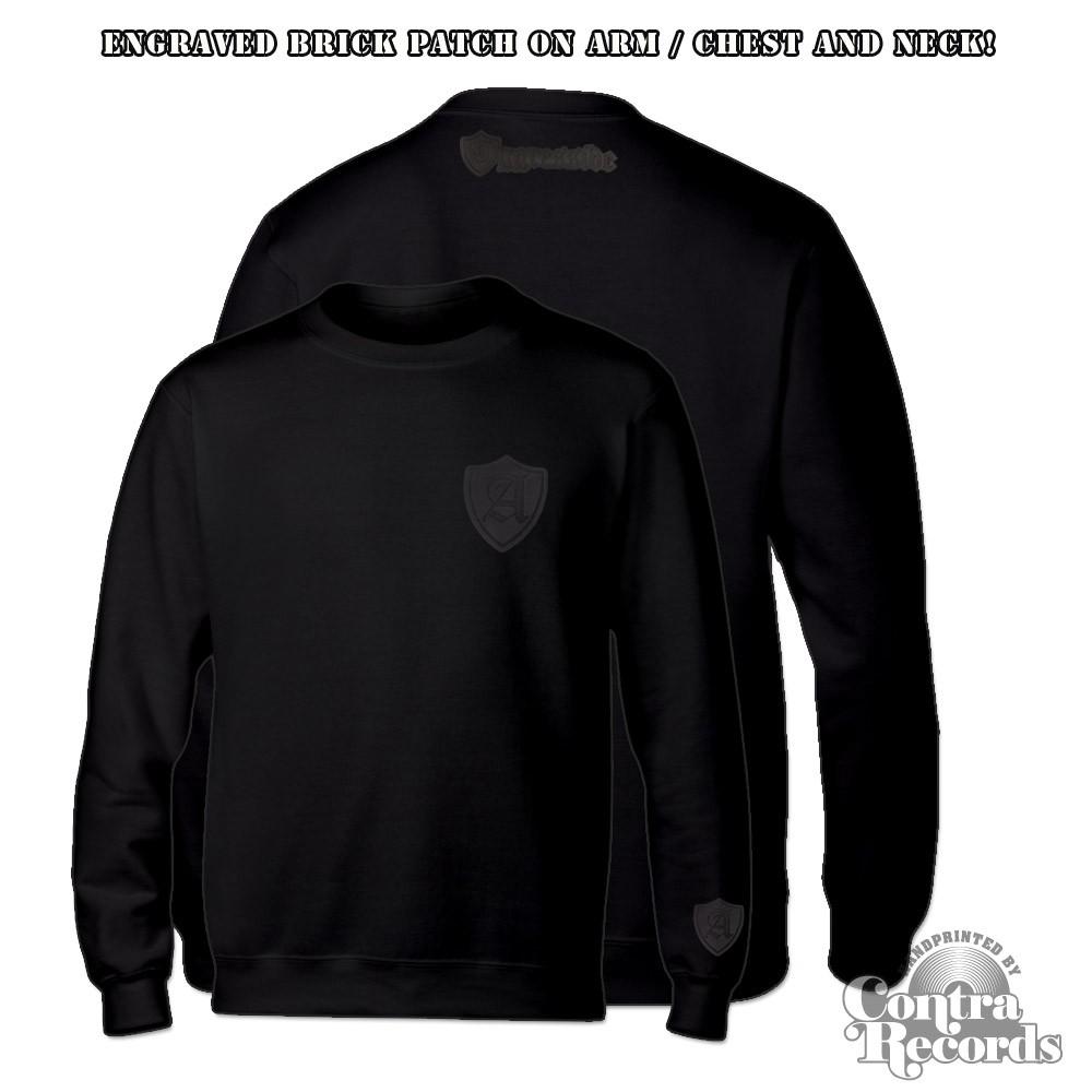 "Aggressive - ""Unbreakable"" - Crewneck Sweatshirt black"