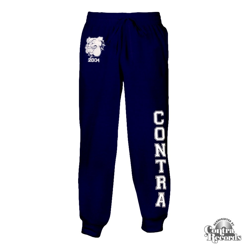 Contra - Streetwear Bulldog - Jogging Trousers (Navy Blue)