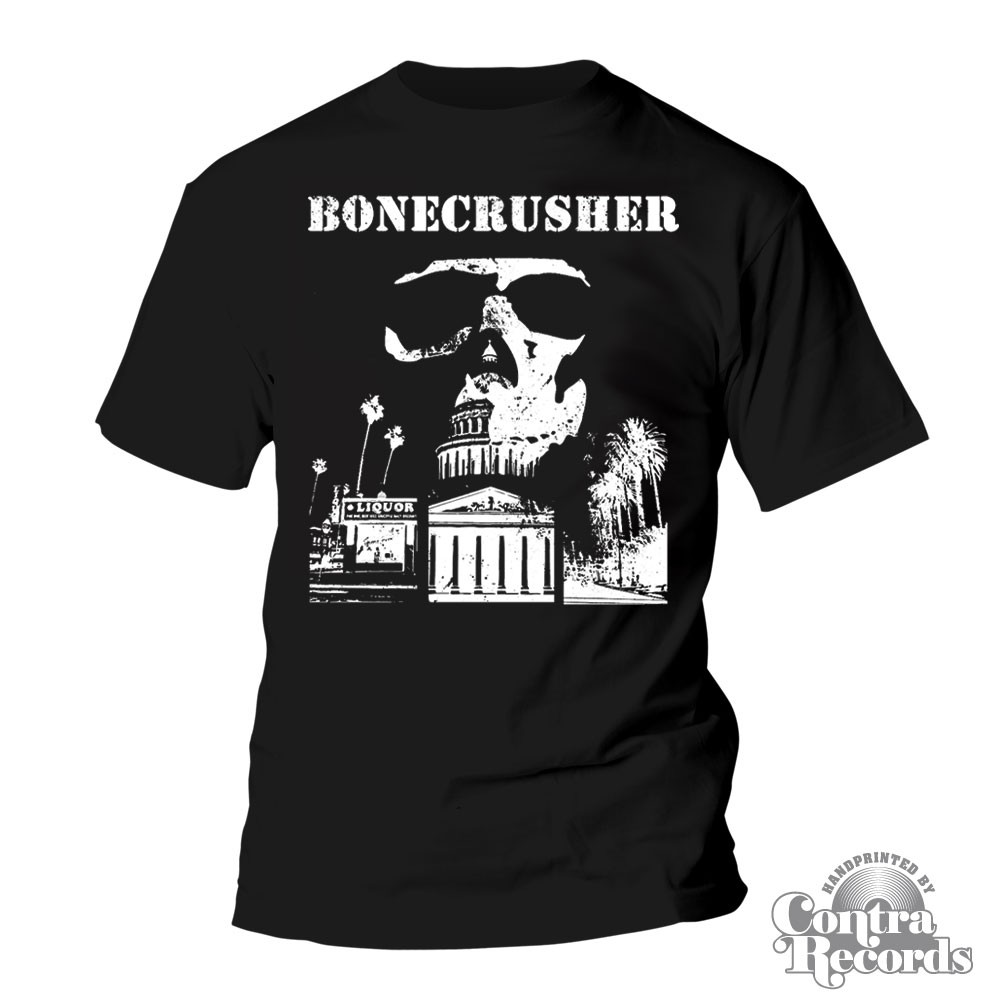 "Bonecrusher -""city hall"" - T-Shirt Black"