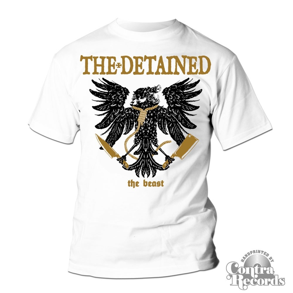 DETAINED,THE -the beast - T-Shirt white