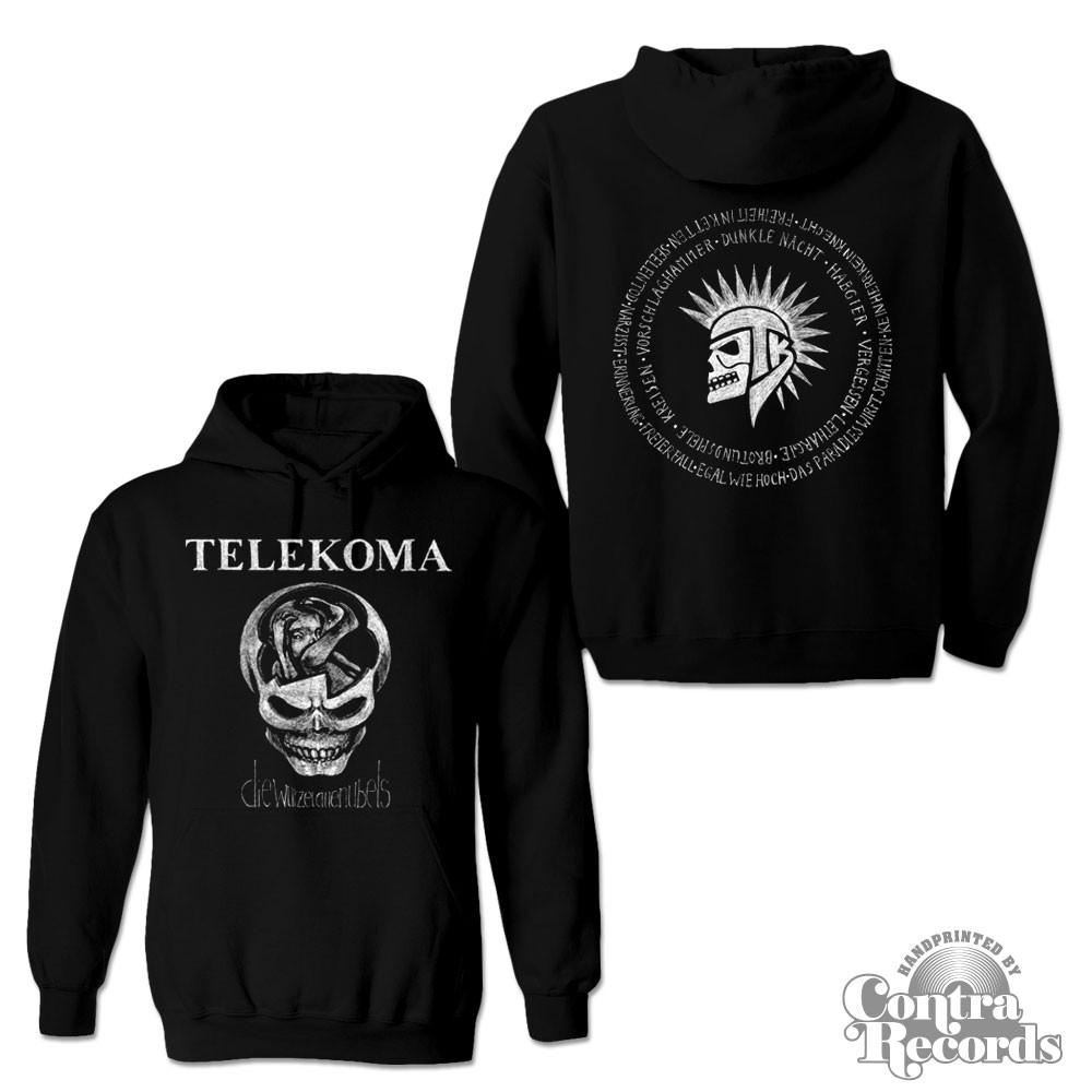 Telekoma - Die Wurzel allen Übels - Hoody Black front/backprint
