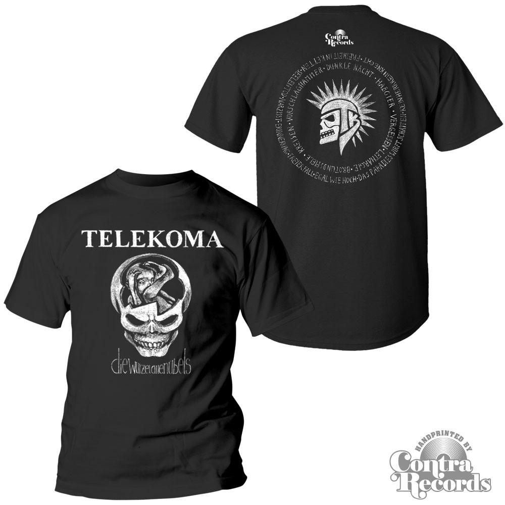 Telekoma-Die Wurzel allen Übels T-Shirt Black