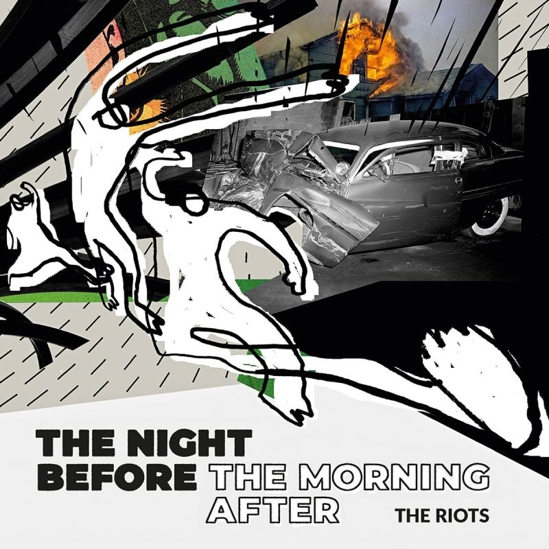 """THE RIOTS - The Night before/The Morning after 7""""EP lim. 100 handnumbered"""