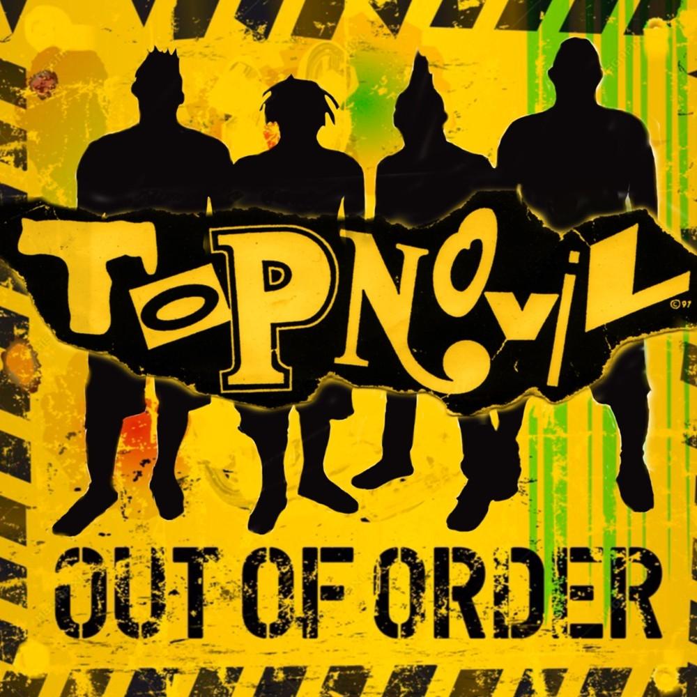 """Topnovil - Out Of Order 12""""LP lim.100 solid black"""