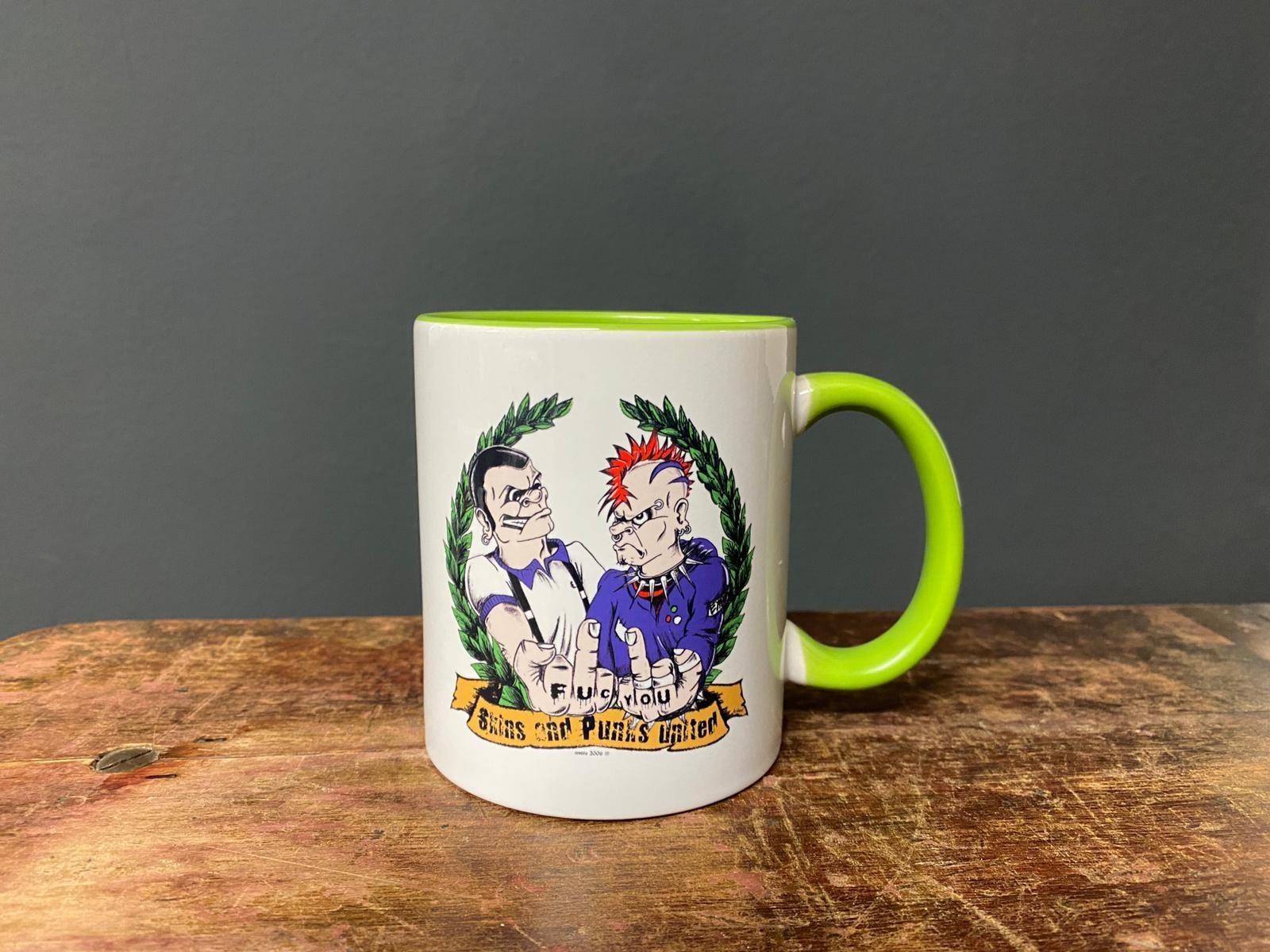 Skins and Punks United - Total Oi! - Tasse/Mug