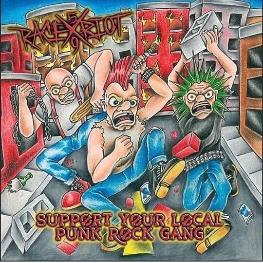 "Race Riot 59 - Punk Rock Gang 12""LP lim.100 Black"
