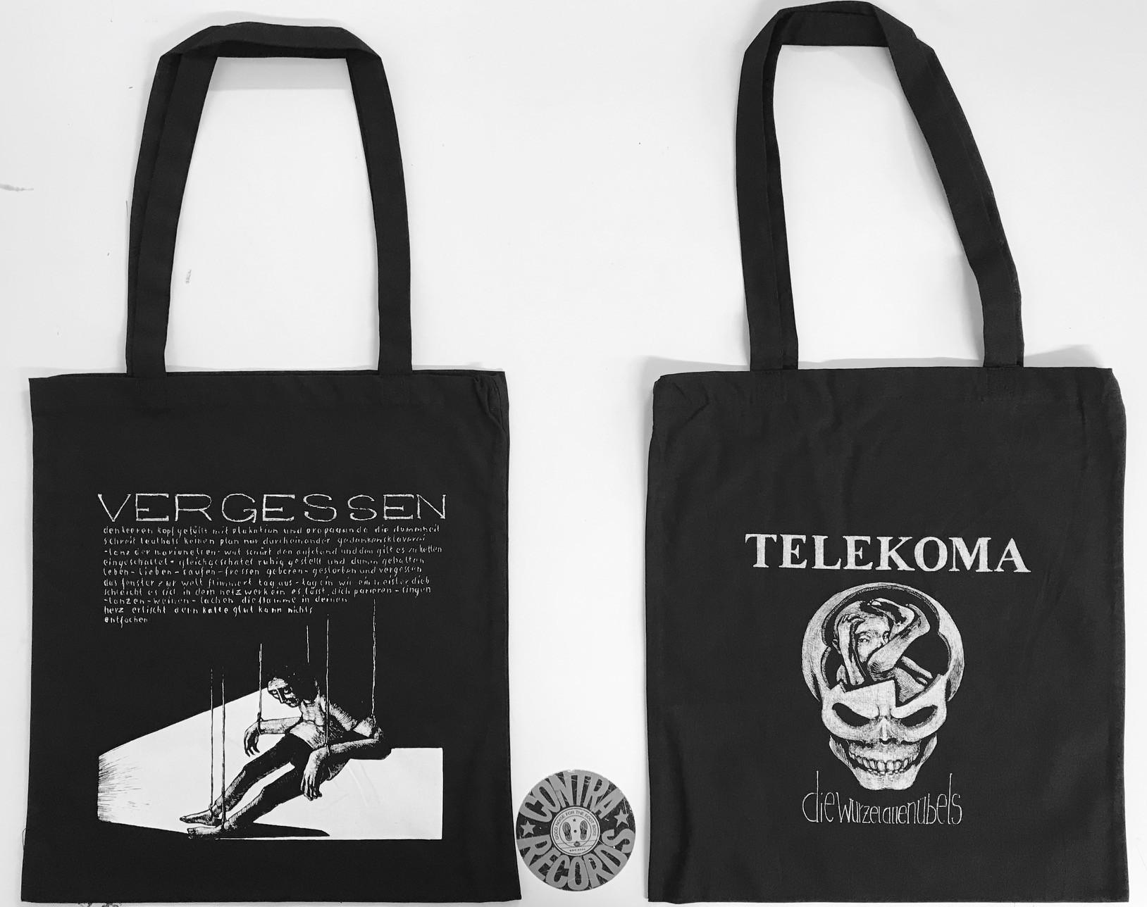"""Telekoma - Die Wurzel allen Übels Beutel - """"Vergessen"""""""